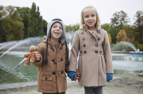 Trench infantiles para otoño-invierno